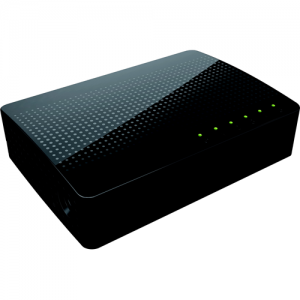 Wbox 5 Port Gigabit Unmanaged Ethernet Switch