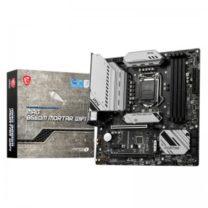 MSI B560M MORTAR WIFI Intel B560 M-ATX Gaming Motherboard