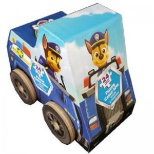 Paw Patrol Puzzle In Vehicle Shaped Box - Chase