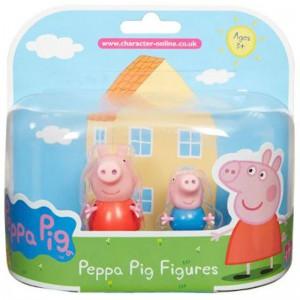 Peppa Pig - 2 Pack Figures - Peppa and George