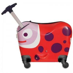 OOPS Ride-On Trolley S - Ladybug