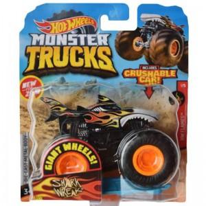 Hot Wheels Monster Trucks 1:64  Shark Wreak