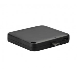 Volkano Relief Series 1500 mAh 3-in-1 Mobile Phone Charger - Black