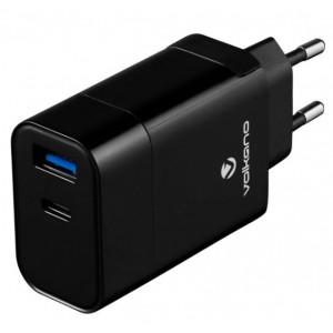 Volkano Express Series QC3.0 + PD Wall Charger with Cable