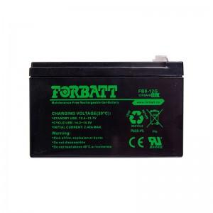 Forbatt 12V Gel 8Ah Battery, Used, 90% capacity, 6 month warranty