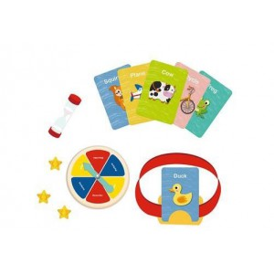 Nuovo Guess What -  Wooden Toy