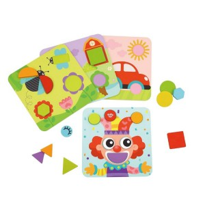 Nuovo Wooden 4 In 1Shape Puzzles