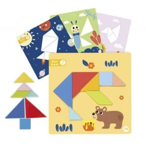 Nuovo Wooden Magnetic Tangram Play