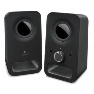 LOGITECH Z150 2.0 BLACK SPEAKERS