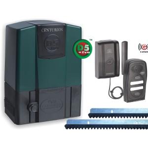 Centurion D5 EVO Motor Kit incl 2 x 4 Btn Nova 4m Rack + G-Speak Plus