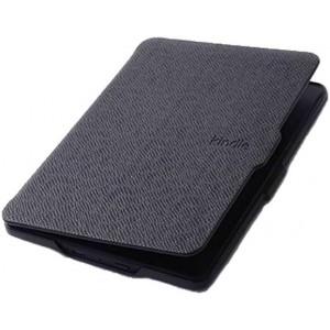 Kindle Paperwhite 2015 Flip Cover Case (Magnetic Lock) (Auto Sleep/Wake up) - Black