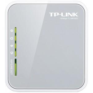 TP-LINK 150Mbps Portable 3G Wireless N Router, UMTS/HSPA/EVDO USB modem, 3G/WAN failover, 2.4GHz, 802.11n/g/b, Internal Antenna