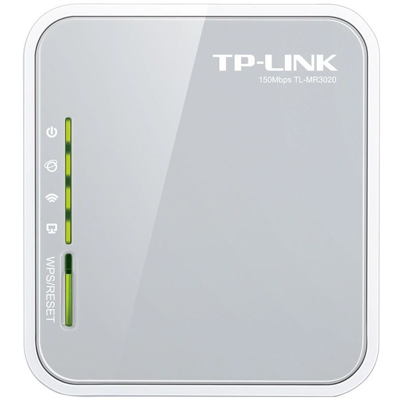 TP-LINK 150Mbps Portable 3G Wireless N Router, UMTS/HSPA/EVDO USB modem,  3G/WAN failover, 2 4GHz, 802 11n/g/b, Internal Antenna - GeeWiz