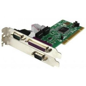 PCI 2 PORT SERIAL + 1 PORT PARALLEL W/LP BRACKET