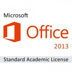 Microsoft Office 2013 Sngl Academic OPEN 1 Licen