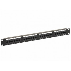 CATTEX CAT6 UTP PATCH PANEL 24PORT
