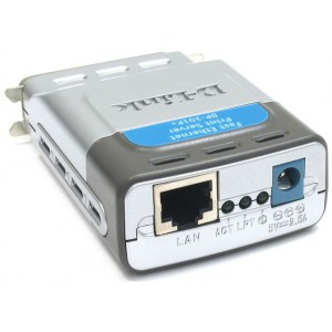 DP-301P+,1PORT,UTP,10/100,1PORT PARALLEL