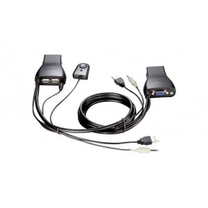 D-LINK 2-PORT USB KVM SWITCH