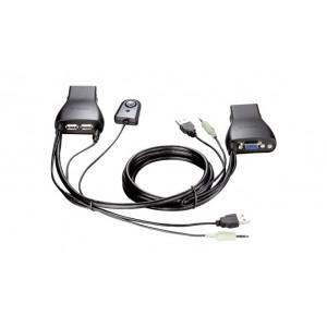 D-LINK 2-PORT USB KVM SWITCH