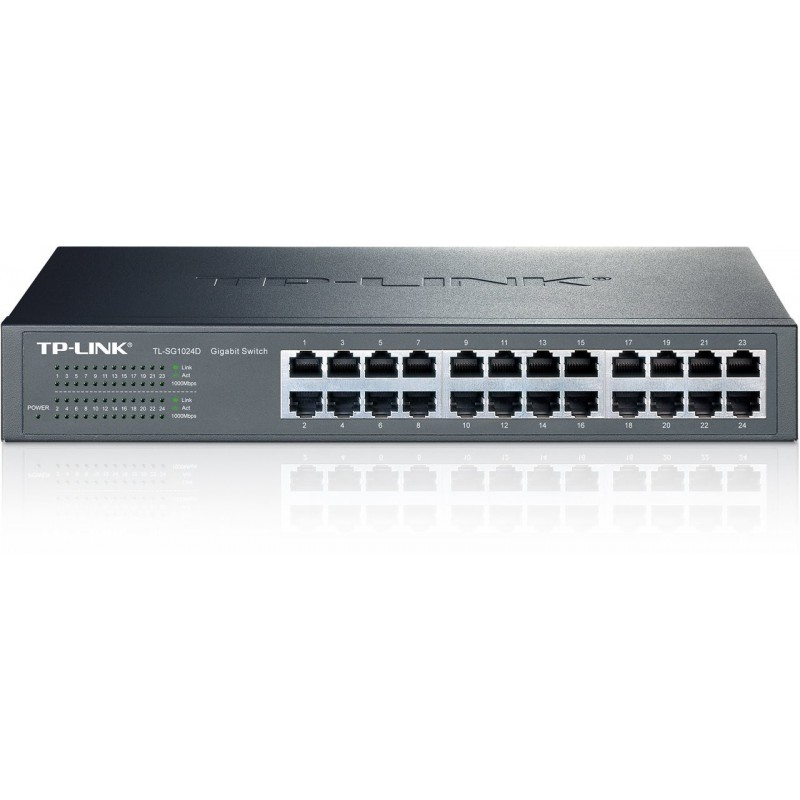 TP-LINK TL-SG1024D 24-Port Gigabit Desktop/Rackmount Switch