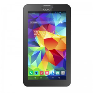 """XTouch P1 7"""" WiFi & 3G Slate - Black, Android 4.4, Dual Core 1.3GHz, 2MP"""