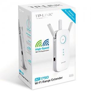TP-LINK AC1750 Wi-Fi Range Extender - 450Mbps on 2.4GHz + 1300Mbps on 5GHz