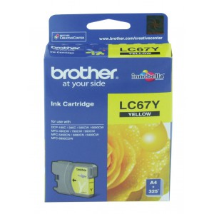 Brother Yellow Ink Cartridge for DCP385C/ MFC490CW/ MFC795CW/ MFC990CW/ DCP6690CW/ MFC6490CW