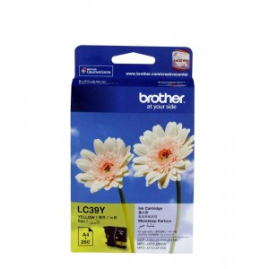 Brother Yellow Ink Cartridge for DCPJ125/ DCPJ140W/ MFCJ220