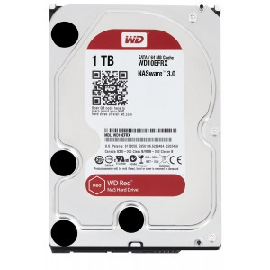 WD Red 1TB NAS Hard Disk Drive - 5400 RPM Class SATA 6 Gb/s 64MB Cache 3.5 Inch