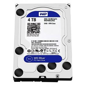 """WD Blue 4TB Desktop Hard Disk Drive - 5400 RPM SATA 6 Gb/s 64MB Cache 3.5"""""""
