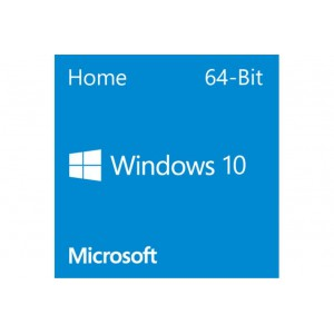 Microsoft Windows 10 Home, 64-bit ONLY, English, DVD Disc, 1 License/s, OEM, Operating System Software