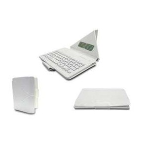 "Universal 8"" Folio-Type Case W/BT Keyboard - White"