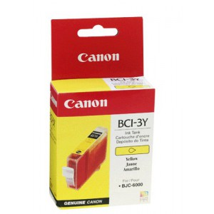 CANON BCI-3Y YELLOW CARTRIDGE
