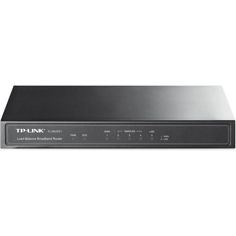 TP-LINK 5 Port Multi-WAN Router - Small Office And Net Cafe, Configurable  Ports Upto 4 WAN Ports, Load Balance, Advanced Firewall, Bandwidth Control,