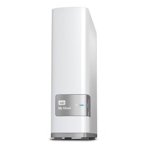 WD 4TB My Cloud Personal Network Attached Storage - White