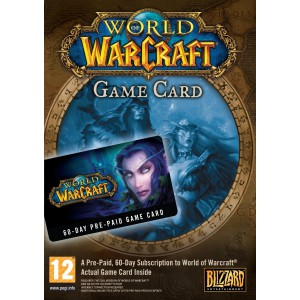 Wow Prepaid Card PC Game