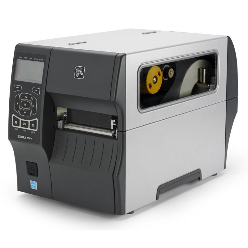 Zebra ZT410 Label Printer - 8 dot/mm (203 dpi) Thermal Transfer & Direct  Thermal , USB, Serial, 10/100 Ethernet, Bluetooth 2 1  Media Handling: Tear