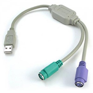 Unbranded Converter - USB to Dual PS/2 (keyboard & mouse)