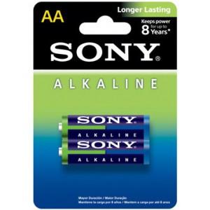 Alkaline Blue AA size, 2 piece Blister Pack