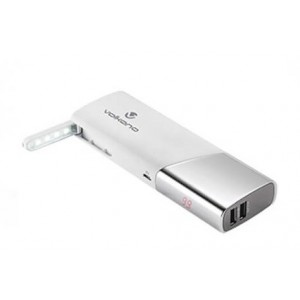 Volkano Ultra Series Power Bank 10400mAh - White