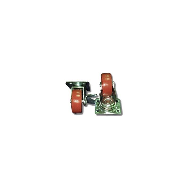 Cabinetmaster Castors (2 STD/2 Brake)