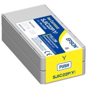 Epson TM-C3500 Yellow Ink Cartridge for Label Printers