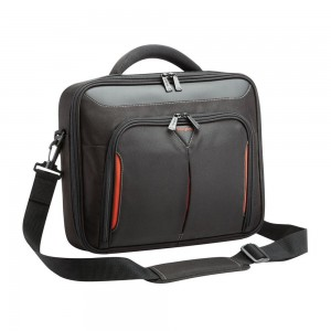 "Targus Bag: Classic Clamshell 15-15.6"" Laptop Case with File Section, Limited Lifetime warranty"