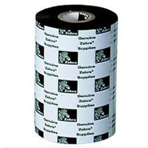ZEBRA-GK420T Wax Ribbon for Desktop Label Printers, 110mmx74m, 2300, Standard, 12mm core, 12/box