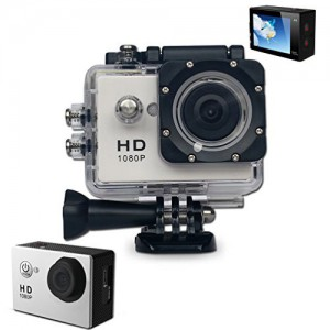 1080p Wi-Fi Sports Action Camera 12MP - 140 Degree Wide Angle Lens - 1.5 Inch LCD - Waterproof For 30 Meters