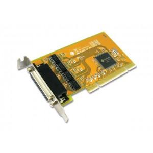 Sunix Serial PCI Card - QUAD 9Pin On Cable, Sun199