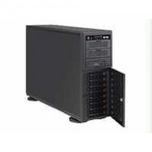 Supermicro 865 Watt 4U Tower/Rackmount Server Chassis, Black (CSE-743TQ-865B-SQ)