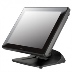 15'' fan free bezel IR touch terminal With upgraded 4G Memory.