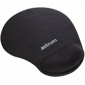 Astrum Mousepad with Silicon Wrist Rest 18.5 x 22 x 2.2cm