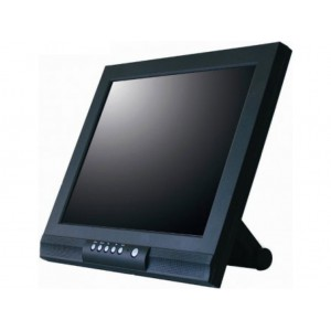 Posiflex 17'' Capacitive TFT LCD Touch Screen Monitor with Firm Base - Black